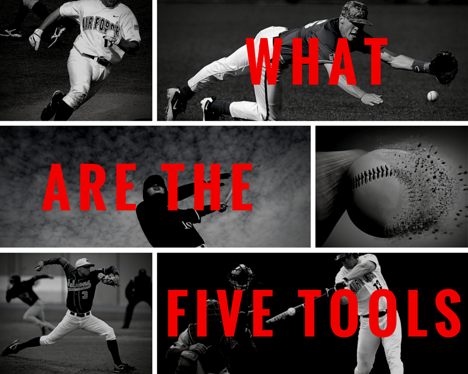 What are the Five tools in baseball